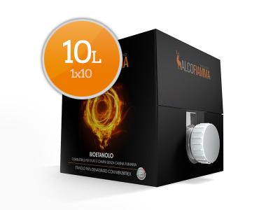 Bioetanolo - Tanica 10 litri - Alcofiamma